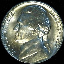 Buy 1952 P Jefferson Nickel Choice BU Nearly 'Full Steps' Superb Luster
