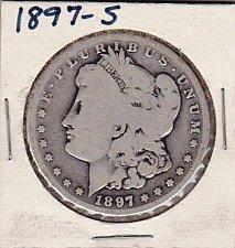 Buy 1897-S Morgan Silver Dollar