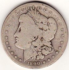 Buy 1890-S Morgan Silver Dollar