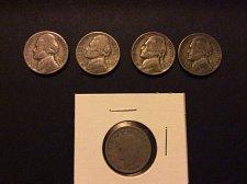 Buy Silver war Nickel Lot.......Bonus V Nickel