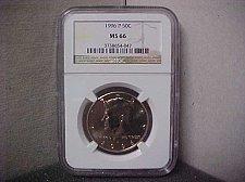 Buy 1996-P 50C NGC J.F.K. MS-66 #047