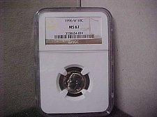 Buy 1996-W 10C NGC Roosevelt Dime MS67 #039