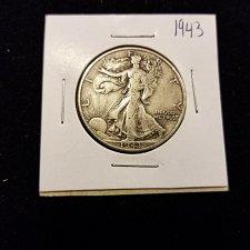 Buy 1943 Silver Walking Liberty Half Dollar