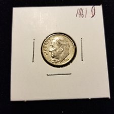 Buy 1961 D Silver Roosevelt Dime