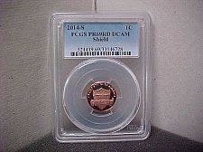 Buy 2014S 1C PCGS PR69 RD DCAM Shield #6728