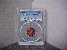 Buy 2007S 1C PCGS PR69 RD DCAM #7813
