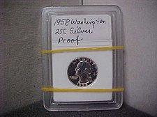 Buy 1958 25C Silver Washington Proof