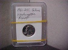 Buy 1961 25C Silver Washington Proof