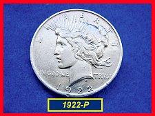 "Buy 1922-P  PEACE Dollar — ""VF"" Condition –  (#5349)a"