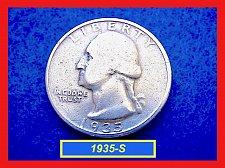 "Buy 1935-S   Washington Quarter – ""VG-08"" Circulated  - (#2567)a"