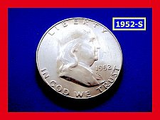 """Buy 1952-S Franklin ★  """"UNCIRCULATED"""" ★  (#1703)a"""