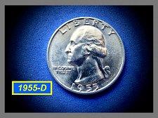 Buy 1955-D  SILVER Quarter ✬ UNC ✬ (#2789)b