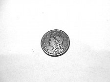 Buy 1837 head of 1838  Coronet Head Large Cent  F