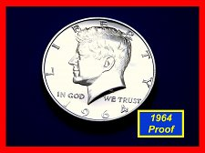 "Buy Silver 1964  PROOF JFK Half Dollar ☆  Grades @ ""PR-64"" ☆  (#1748)a"