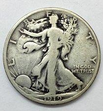 Buy 1919 Walking Liberty Half Dollar