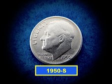 Buy 1950-S Roosevelt Dimes  ☆ Circulated ☆   (#3696)a