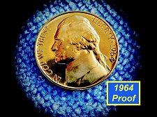 """Buy 1964  Proof Nickel  ✬  """"DCAM""""   ✬  (#6434)a"""