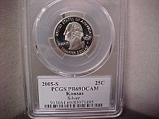 Buy 2005-S 25 Cent Washington PCGS PR69 DCAM #71495