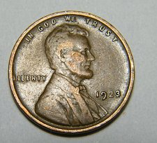 Buy 1923  Lincoln Wheat Cent # M8