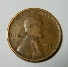 Buy 1927 P Lincoln Wheat Cent # m20