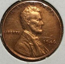 1946-D  RPM#4  D//D Northeast Gem BU Uncirculated Red Lincoln Cent  Rare!!
