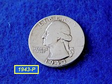 "Buy 1943-P Washington Quarter ☆  ""CIRCULATED""   ☆  (#2842)a"
