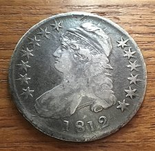 Buy 1812 CAPPED BUST SILVER HALF DOLLAR