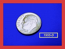 Buy 1955-D Roosevelt Dime ✬  Silver ☆ Brilliant Uncirculated ✬   (#3614.d)a