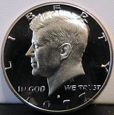 Buy 1977-S Deep Cameo Clad Proof Kennedy Half Dollar