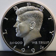 Buy 1994-S Deep Cameo Clad Proof Kennedy Half Dollar (#4)