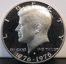 Buy 1976-S Deep Cameo Clad Proof Kennedy Half Dollar