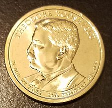 Buy 2013-D T Roosevelt Dollar - From Mint Roll (7699)