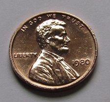 1980 Lincoln Memorial Penny Coin Value Prices, Photos & Info