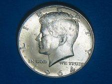 Buy 1964-D Kennedy Half ** Choice BU ** 90% Silver ** Great Mint Luster