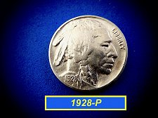 "Buy 1928-P BUffalo Nickel  ☆  ""VF-35>>>XF-40""  ☆  (#6454)a"