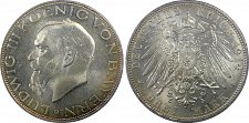 Buy 1914-D Germany Bavaria Silver 3 Marks