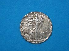 Buy 1945 Walking Liberty Half Dollar ** Nice Details