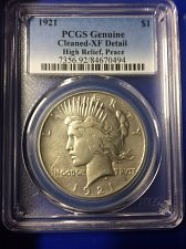 Buy 1921-P High Relief Peace Dollar