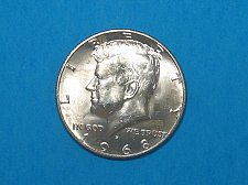Buy 1968-D Kennedy Half ** 40% Silver ** Choice BU From An Original Roll ** Great Lu