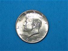 Buy 1964-D Kennedy Half ** 90% Silver ** Choice BU From An Original Roll ** Great Lu