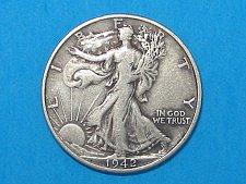 Buy 1942-D Walking Liberty Half Dollar