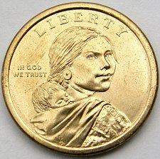 Uncirculated from Mint Roll 2011-D $1 Native American Dollar Wampanoag Treaty