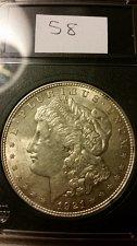 Buy 1921 P (Philadelphia) ANACS Graded Vam 58 90% Silver Morgan Dollar Bullion