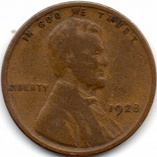 Buy 1928 P Philadelphia Lincoln Wheat Penny