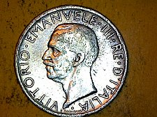 Buy Italy 1927 5 Lire Silver