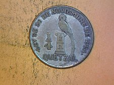 Buy Guatemala 1926 1/4 Quetzal  Silver