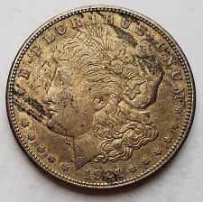 Buy 1921-S Morgan Silver Dollar 17md358