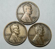 Buy Wheat cent coin LOT 1930 S 1935 S 1927 D ADDITIONAL COINS SHIP FREE