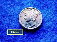 Buy 1942-P Merc Dime ☆   (#3743)a