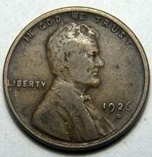 Buy 1926 D Lincoln Wheat Cent